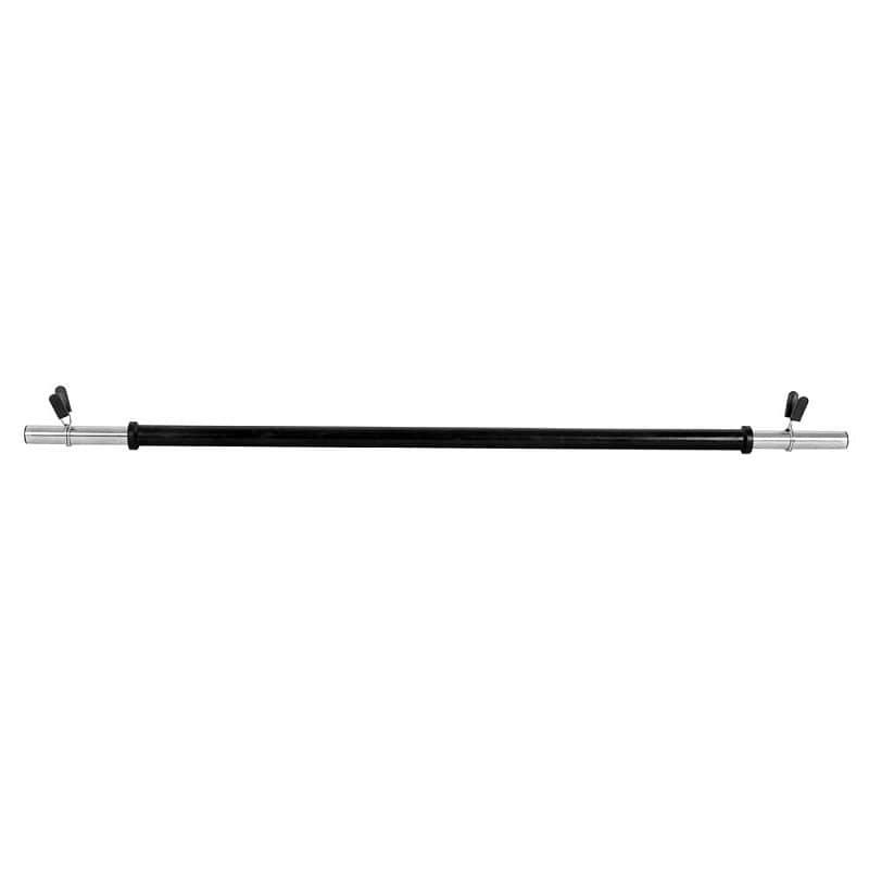 Aerobní vzpěračská tyč inSPORTline Pump - rovná 130cm / 25mm bez závitu