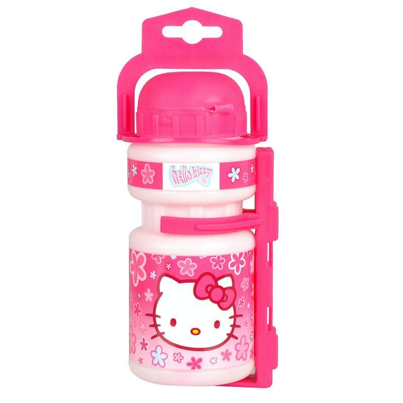 Plastová láhev s držákem Hello Kitty