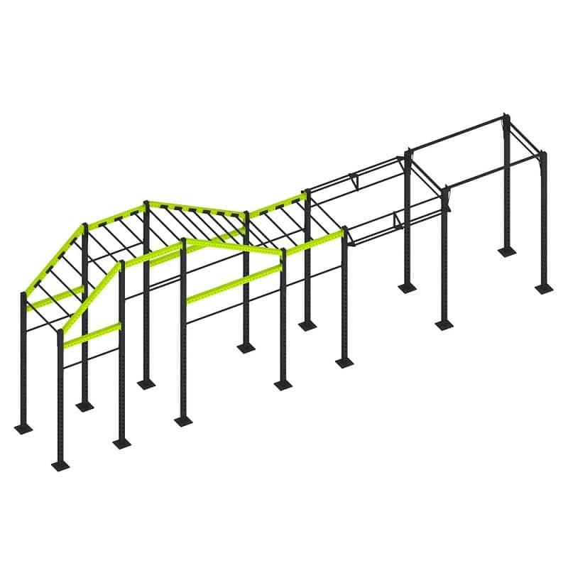Tréningová konštrukcia inSPORTline Trainning Cage 40