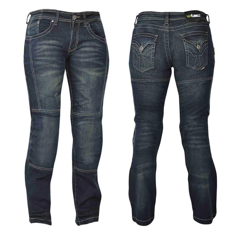 Dámské motocyklové jeansy W-TEC Alinna Velikost 12/S