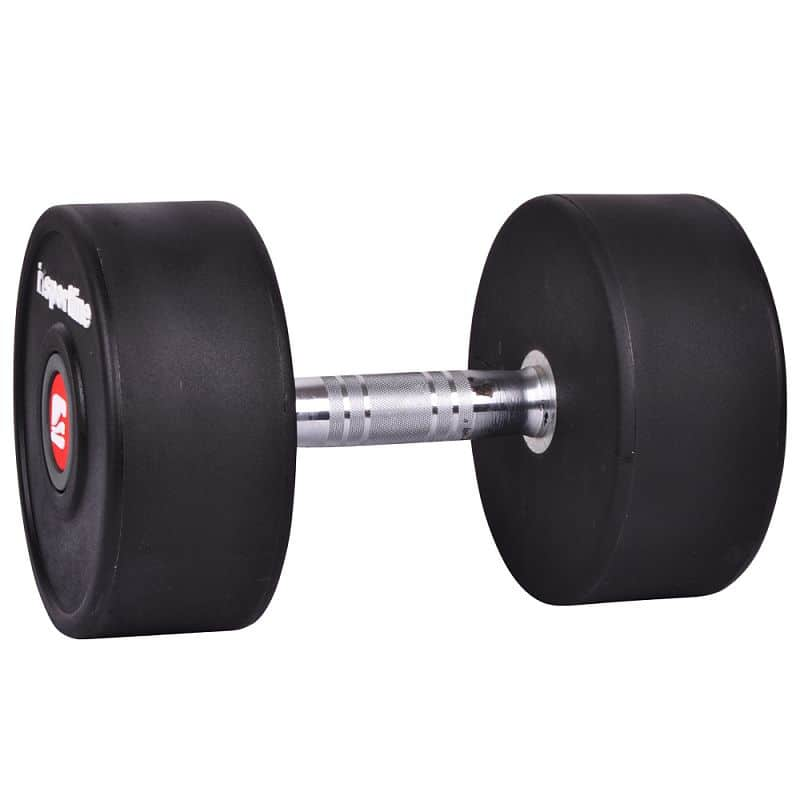 Jednoručná činka inSPORTline Profi 24 kg