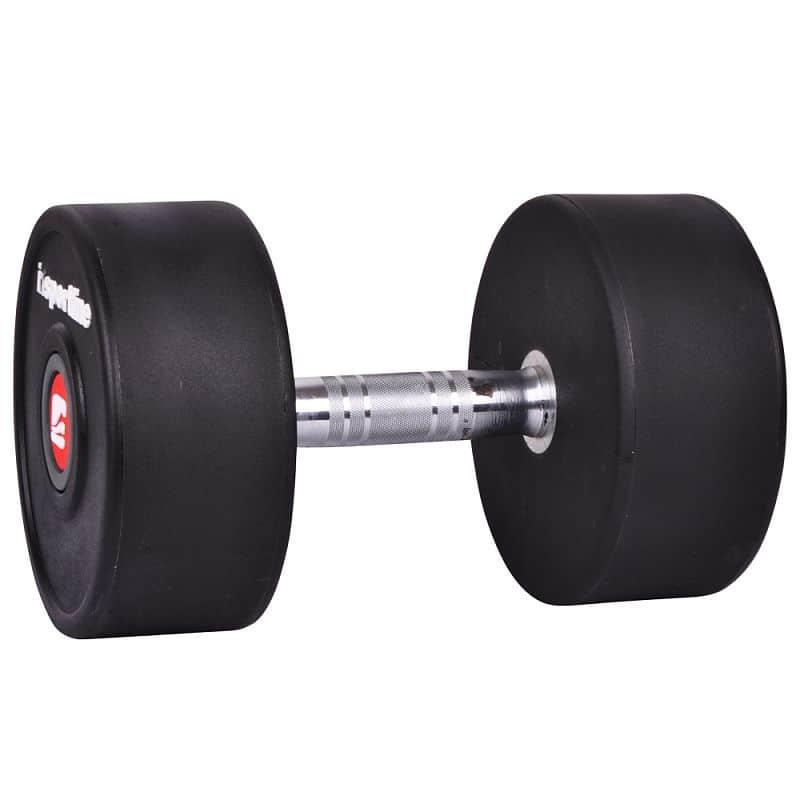 Jednoručná činka inSPORTline Profi 44 kg