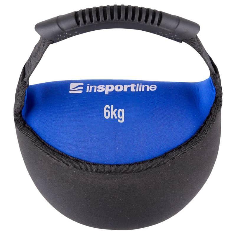Neoprénová činka inSPORTline Bell-bag 6kg