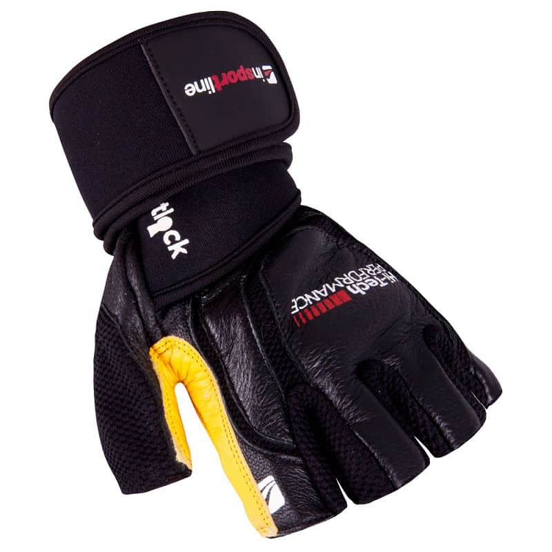 Pánské fitness rukavice inSPORTline Bewald Velikost M