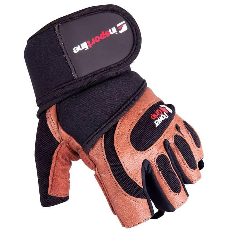 Pánské fitness rukavice inSPORTline Mahus Velikost M