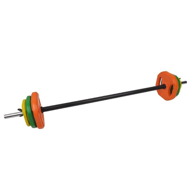 Činkový set inSPORTline Pump 2 - 20 kg (30 mm)