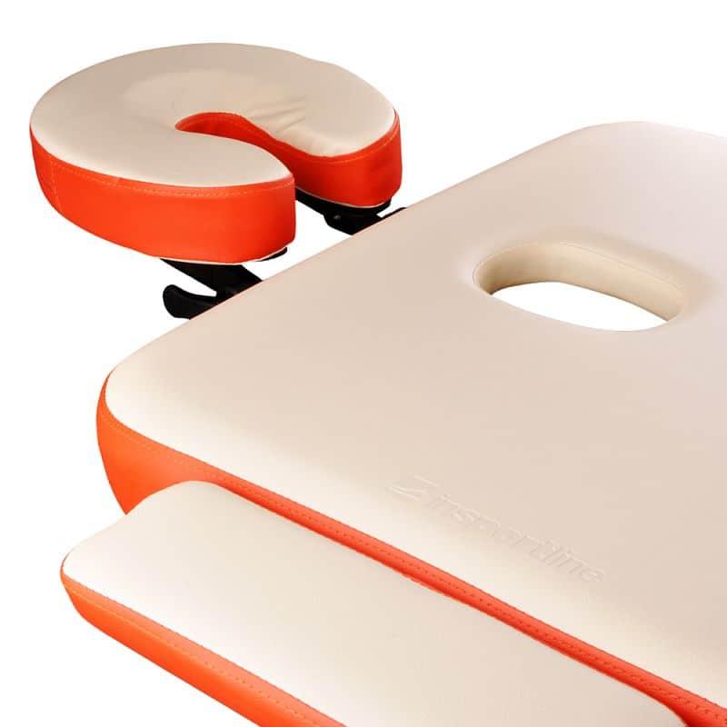 Masážní stůl inSPORTline Tamati 2-dílný hliníkový