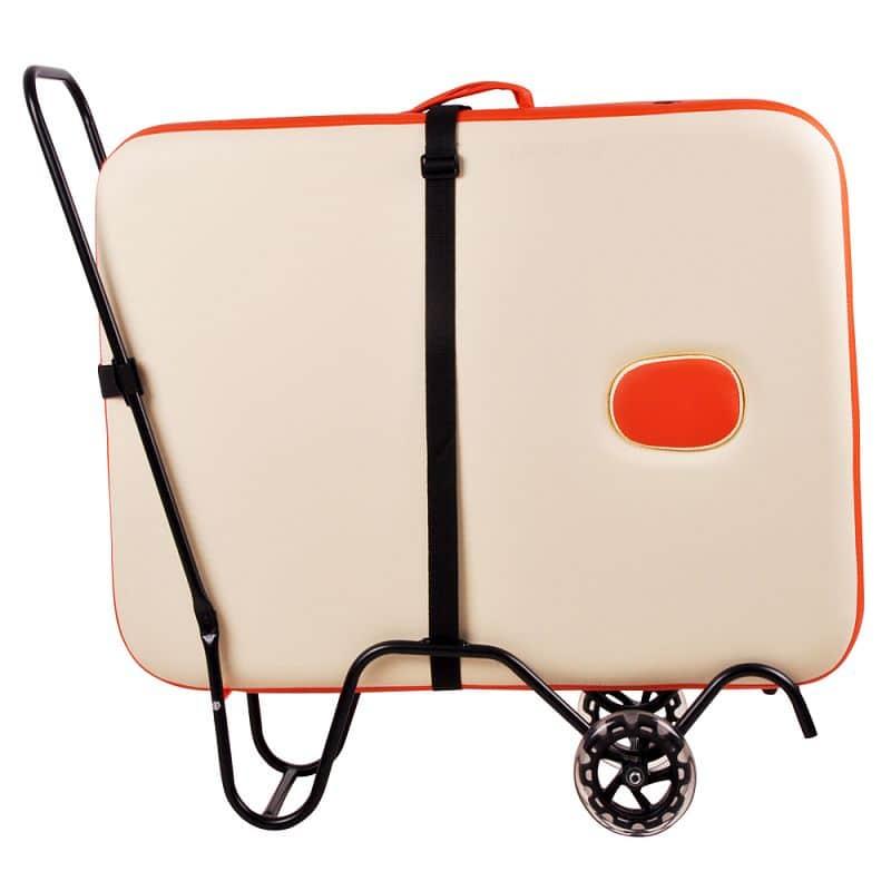 Transportní kolečka inSPORTline pro masážní lehátko