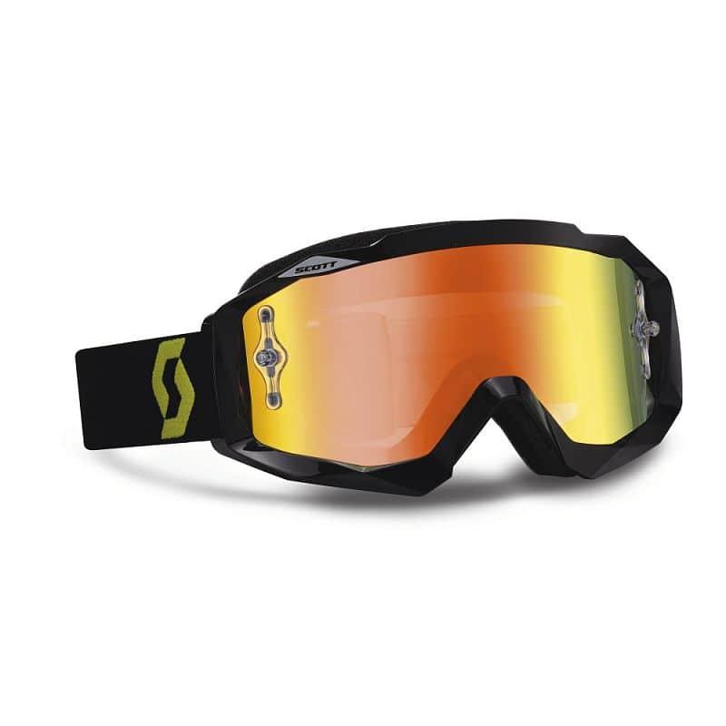 Moto brýle Scott Hustle MXV Barva oranžová