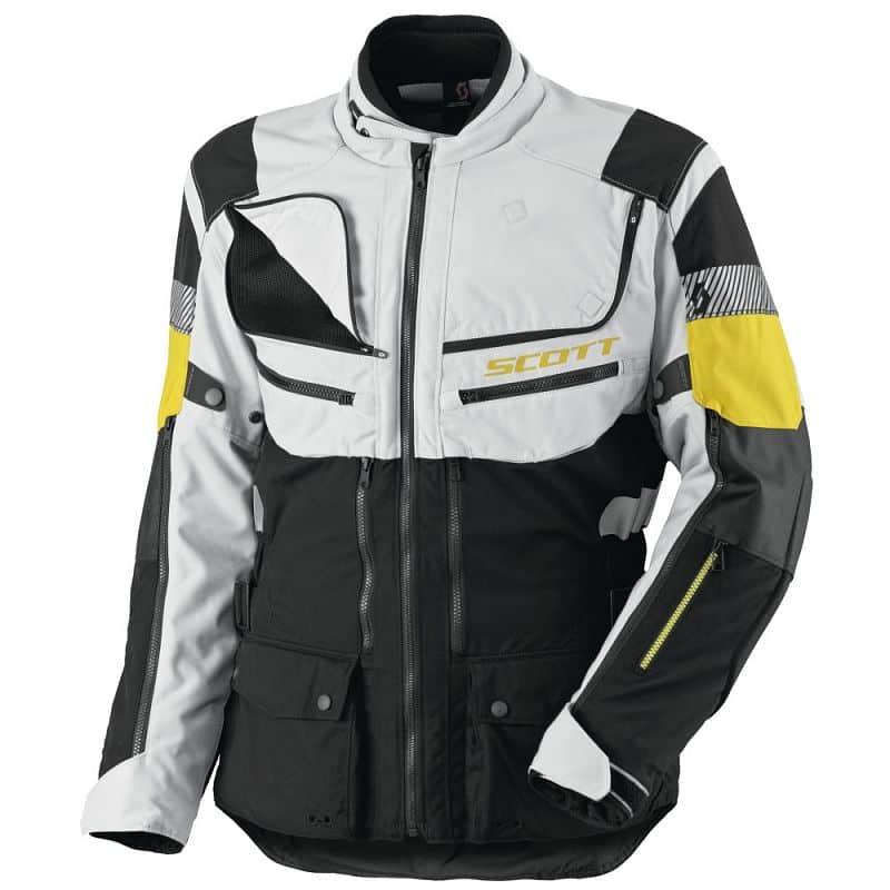 Moto bunda SCOTT All Terrain PRO DP Barva šedo-červená, Velikost L (50-52)