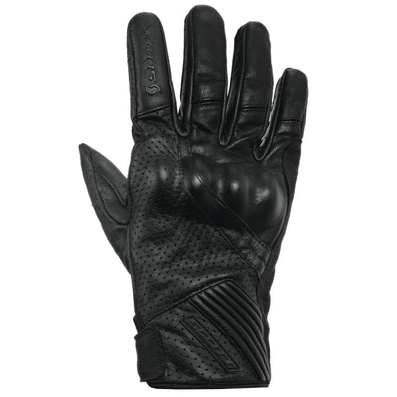 Moto rukavice SCOTT Lane 2 Barva černo-červená, Velikost L