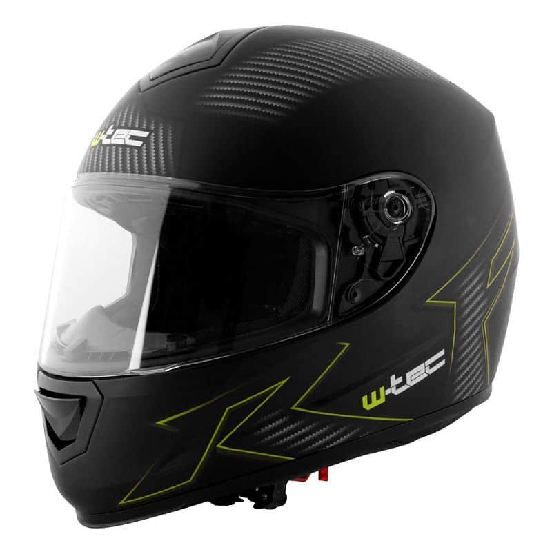 Moto helma W-TEC V159 Barva černá s grafikou, Velikost XS (53-54)