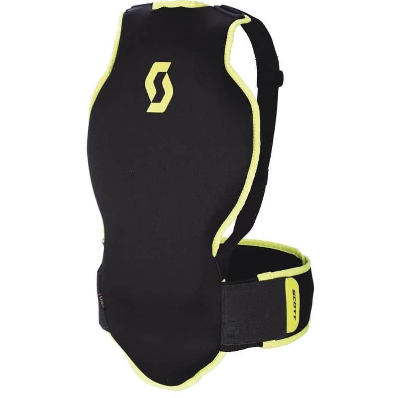 Páteřák SCOTT Soft CR II Junior Barva černo-zelená, Velikost XS