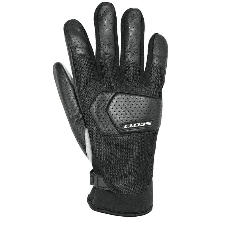 Moto rukavice SCOTT SPV Mesh 2 Barva černá, Velikost L