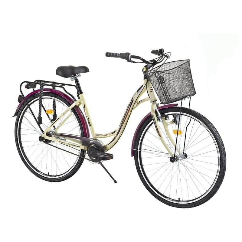 """Městské kolo DHS Citadinne 2838 28"""" - model 2015 Barva Ivory, Velikost rámu 17,5"""""""
