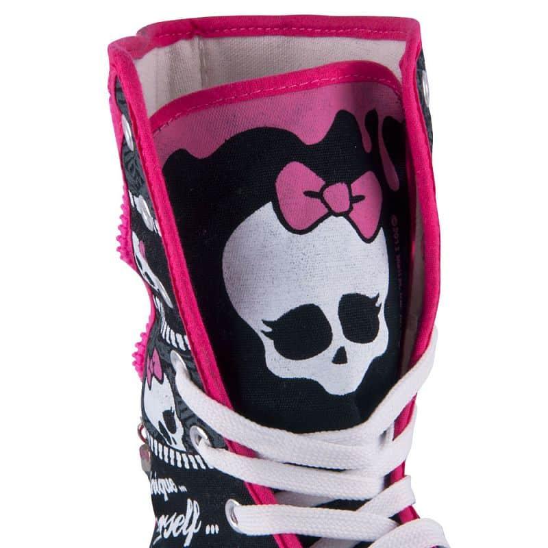 Dětské dvouřadé kolečkové brusle Monster High
