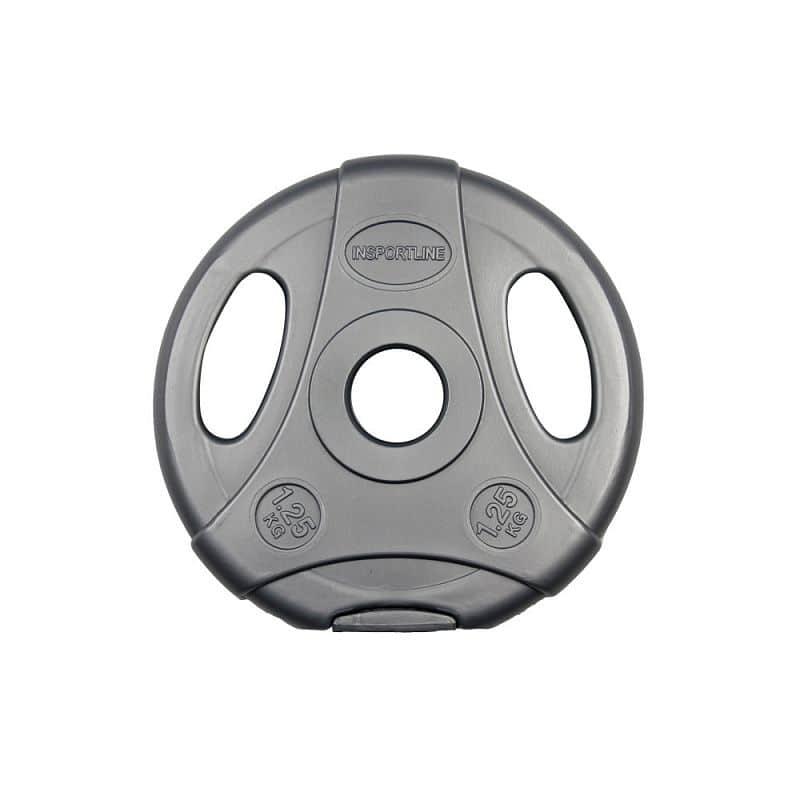 Cementový kotúč inSPORTline Ergo 1,25 kg šedý