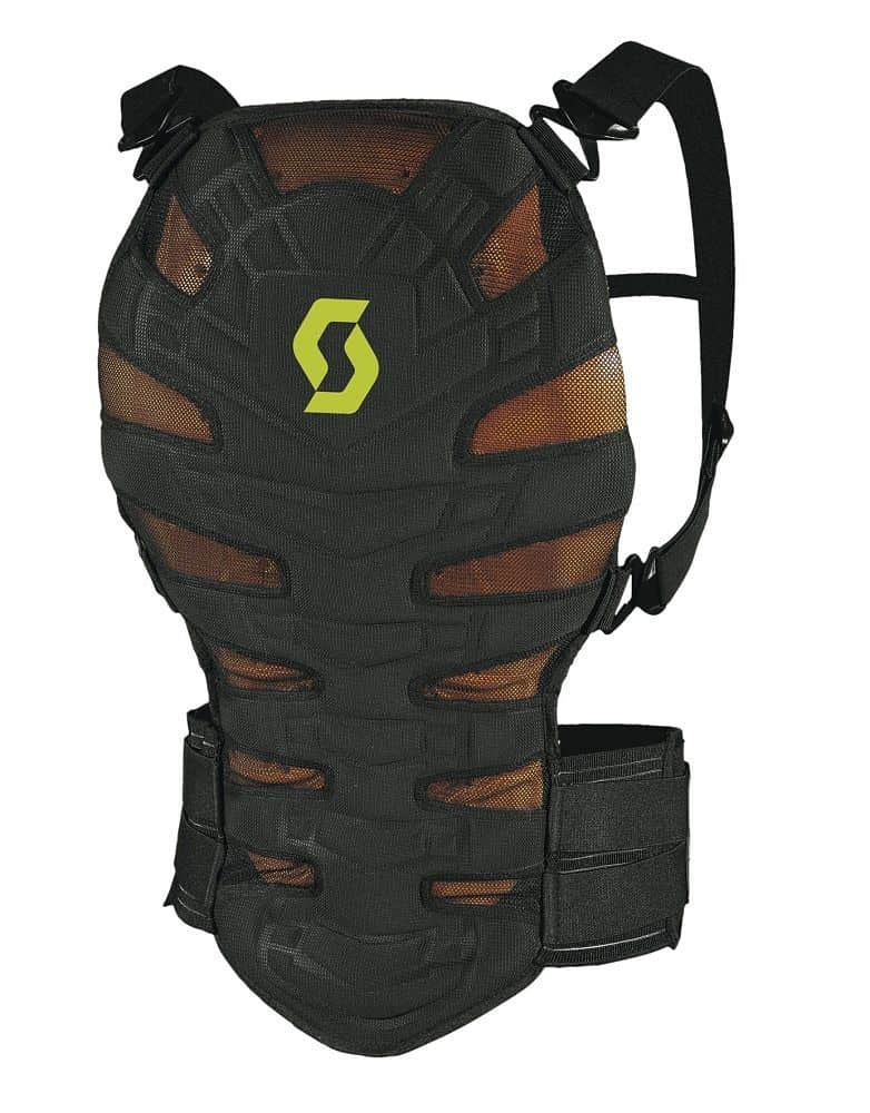 Páteřák SCOTT Soft CR II Barva černo-hnědá, Velikost M