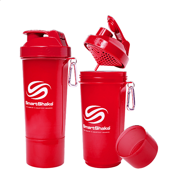 Šejkr Smart Shake Slim 500 ml Fialová