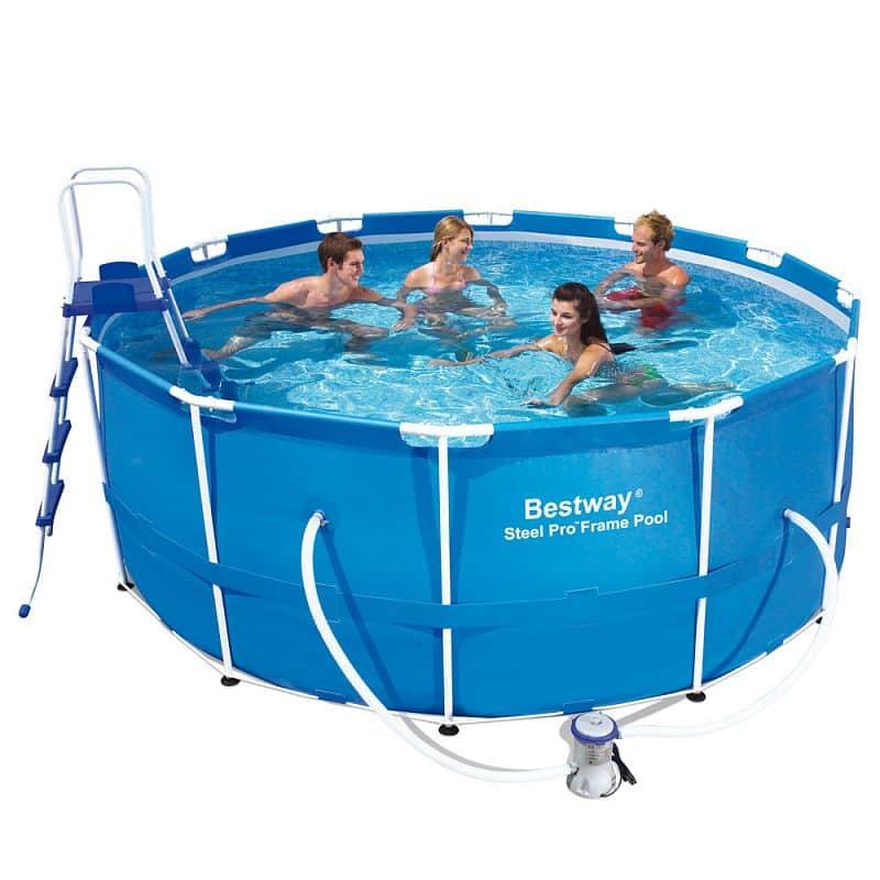 Bazén rodinný s konstrukcí 366 x 122 cm + filtrace a doplňky
