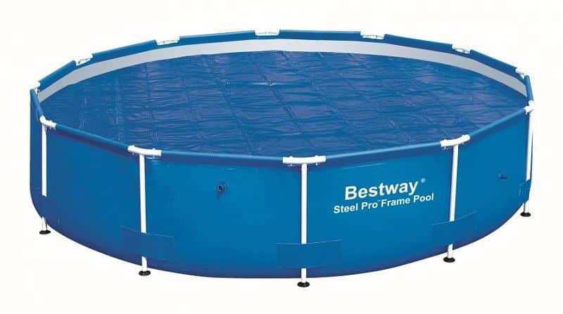 Solární plachta Bestway na bazén s konstrukcí 366 cm