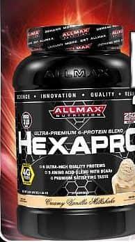 HexaPRO Protein 2500g Burákové máslo