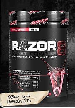 Razor 8 Blast NEW 570g Berry Extreme