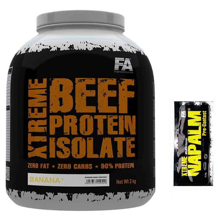 FA Xtreme BEEF Hydrolyzed Protein Isolate 1800g