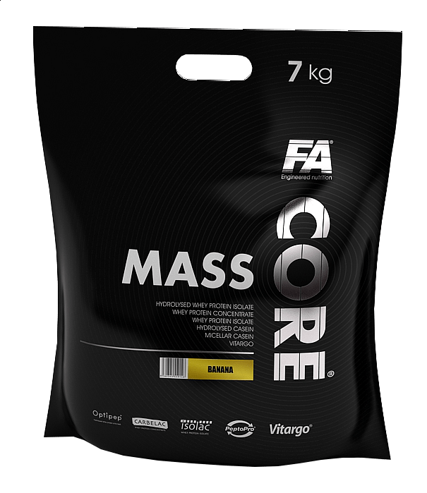 Levně Fitness Authority Mass Core 7000 g Bílá čokoláda / kokos