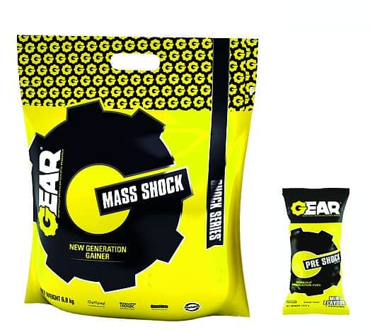 FA GEAR MASS SHOCK 6800 G čokoláda