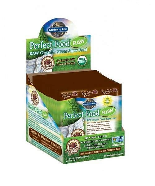 Perfect Food RAW Organic Chocolate 15 (1 dávka 10g.) - VÝPRODEJ