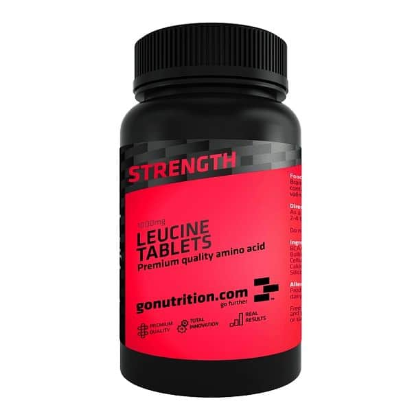 GoNutrition Leucine 180 tablet