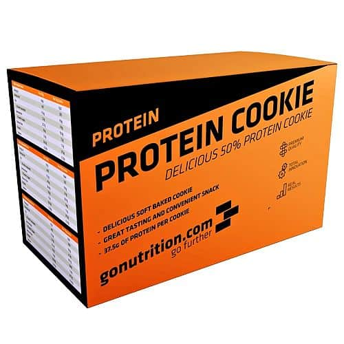 GoNutrition Protein Cookie box 12x75g