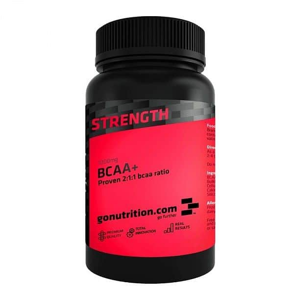 GoNutrition BCAA+ 180 tablet