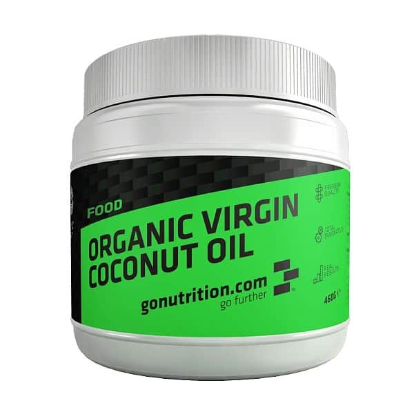 GoNutrition Organic coconut oil 460ml