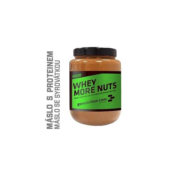 GoNutrition Whey more Nuts 500g
