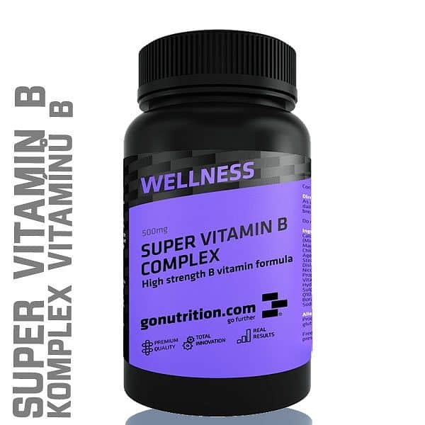 GoNutrition Vitamín B Complex 120 tablet