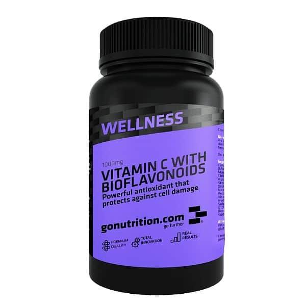 GoNutrition Vitamín C s Bioflavonoidy 120 tablet