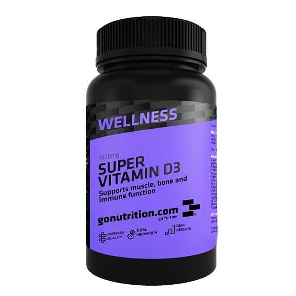 GoNutrition Super Vitamin D3 180 kapslí