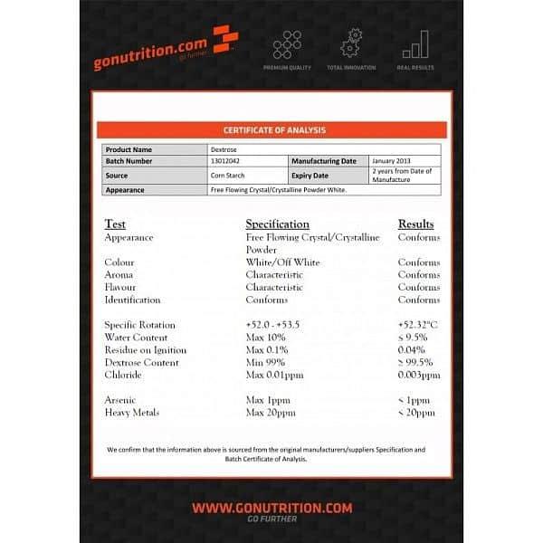 GoNutrition Dextroza 2kg