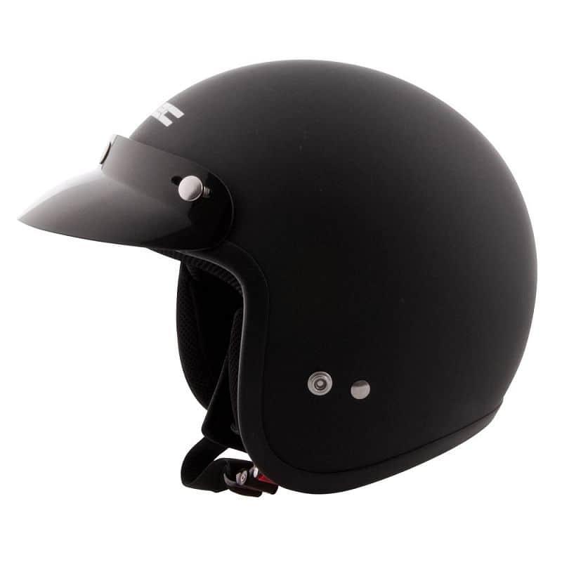 Moto přilba W-TEC AP-75 Barva Pearl Black, Velikost XL (61-62)