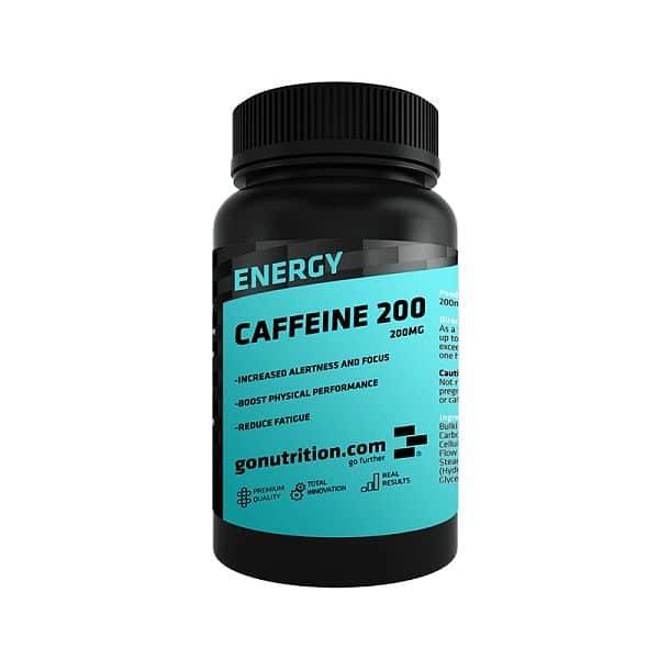 GoNutrition Caffeine 200 120 kapslí
