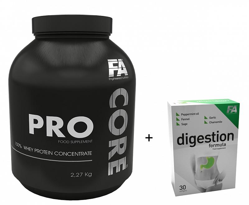 FA PRO CORE 2,2kg + Digestion Formula 30tbl Vanilka