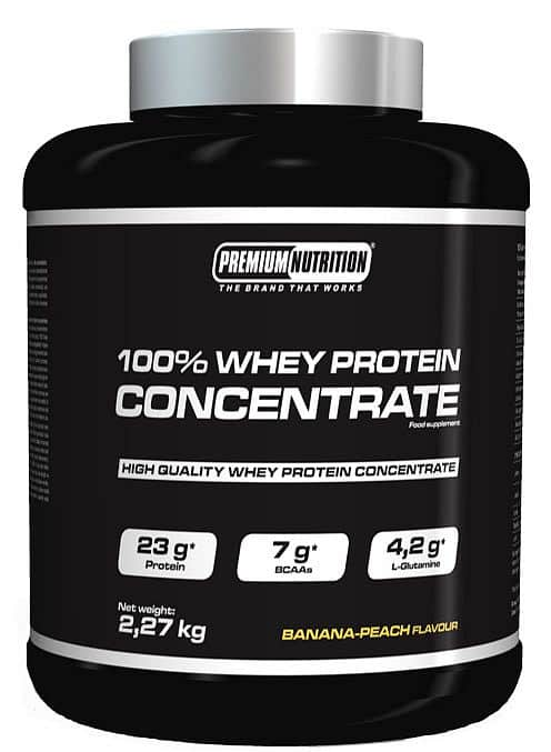 100% WHEY PROTEIN CONCENTRATE 2,27kg Jahoda