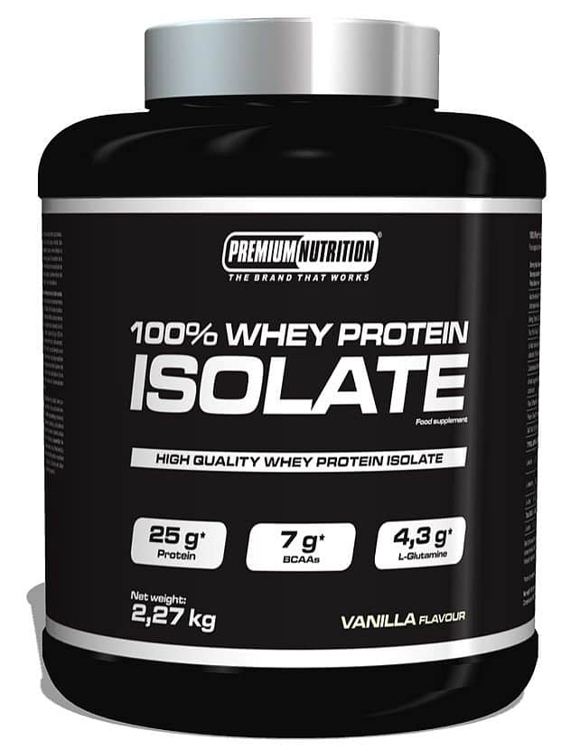100% WHEY PROTEIN ISOLATE 2,27kg