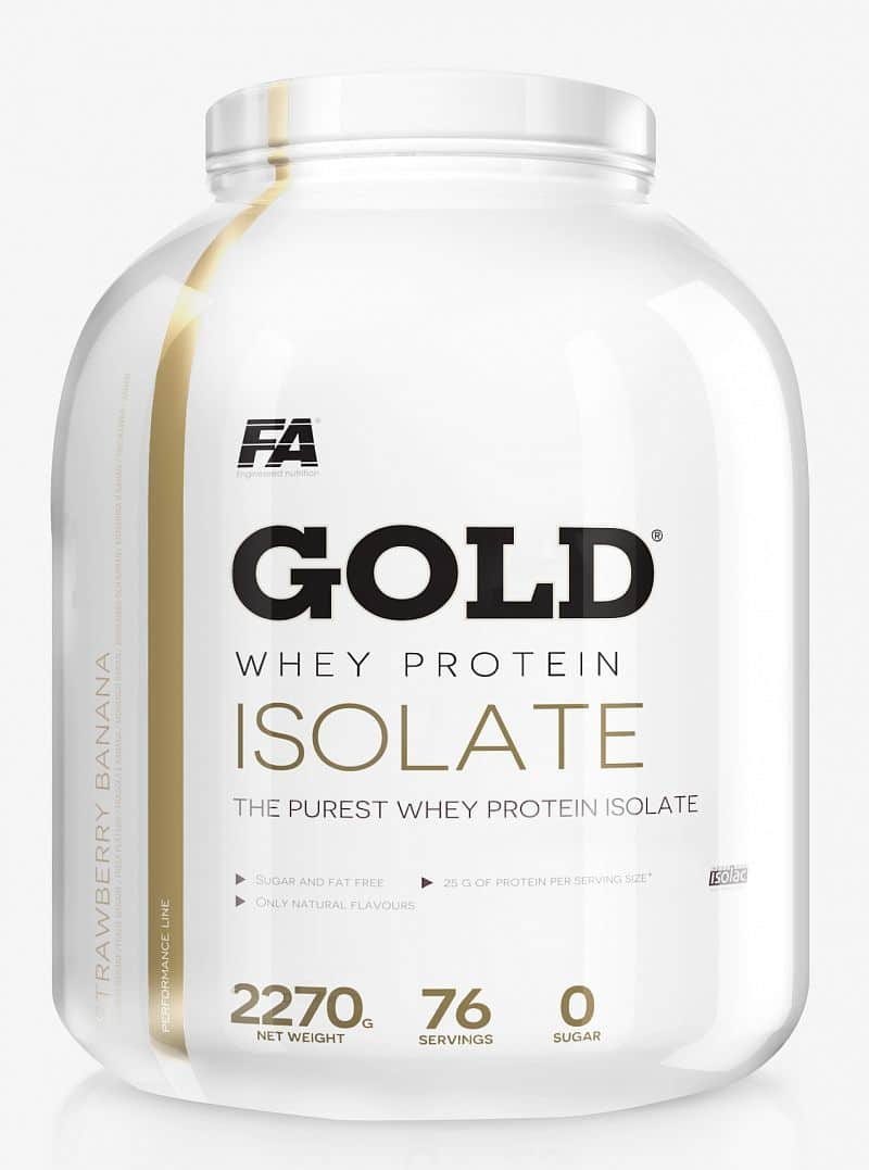 FA Gold Whey Isolate 908g