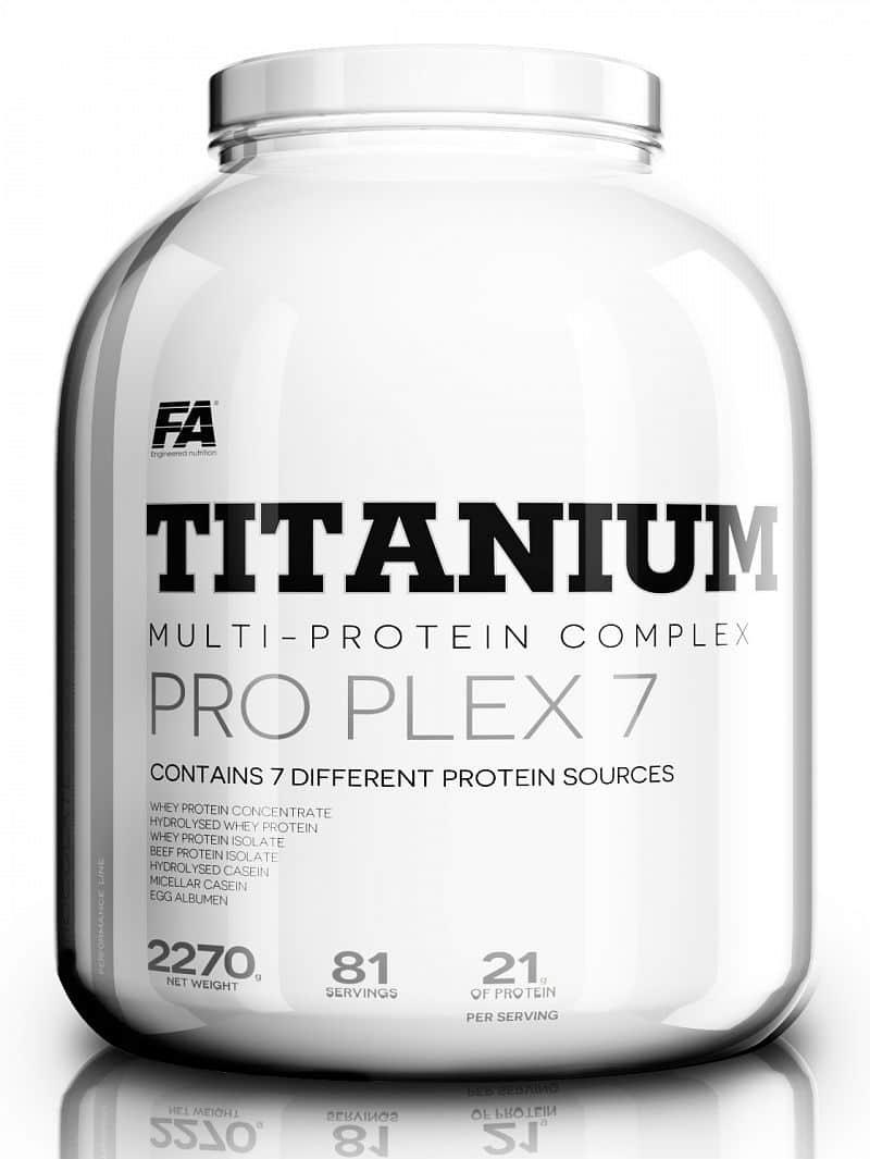 FA Titanium Pro Plex 7 - 2,27kg