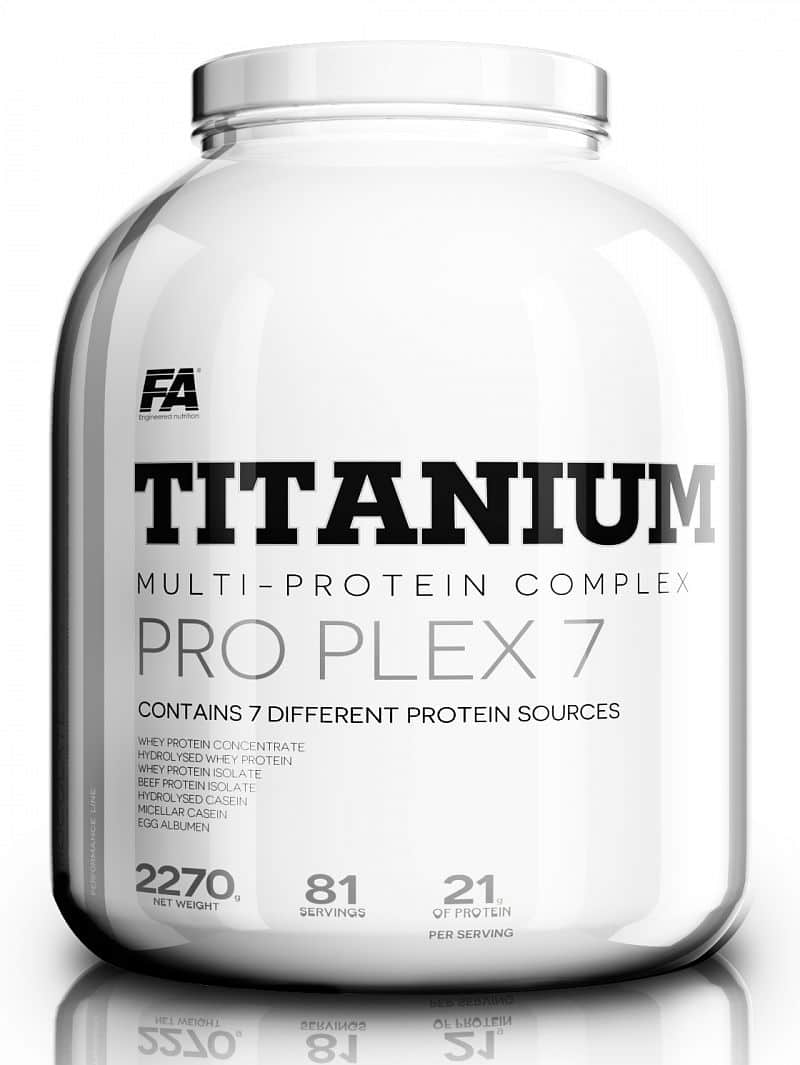 Fitness Authority Titanium Pro Plex 7 2270 g  d7ffd8163aa