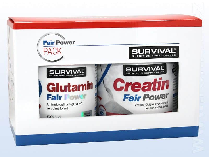Glutamin Fair Power + Creatin Fair Power