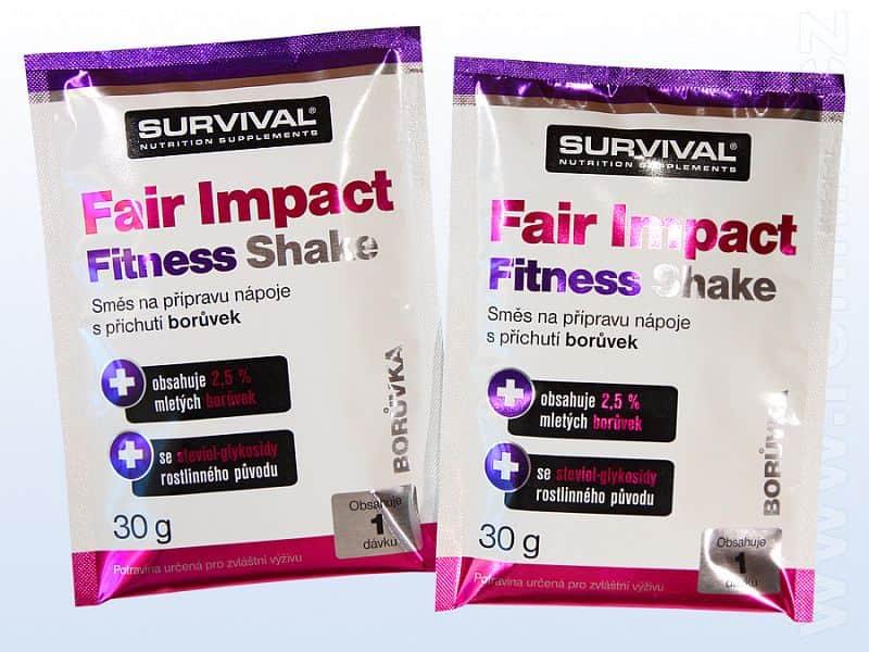 Fair Impact Fitness Shake - vzorek (30 g)